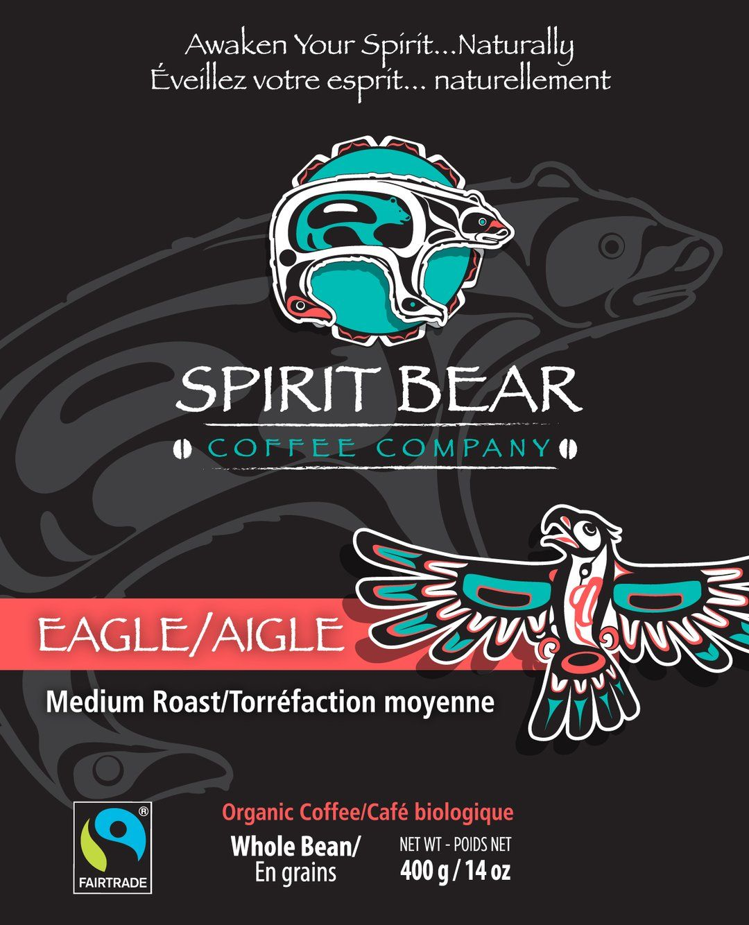 Spirit Bear Coffee Co. - Eagle - Medium Roast (Beans)