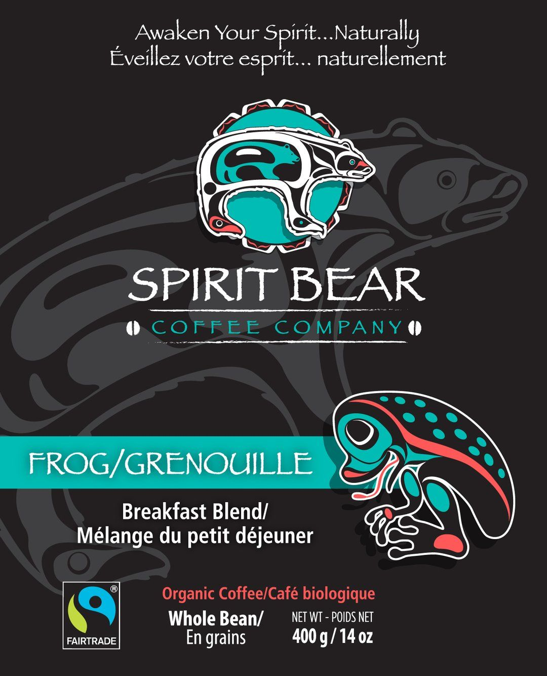 Spirit Bear Coffee Co. - Frog Breakfast Blend (Beans)