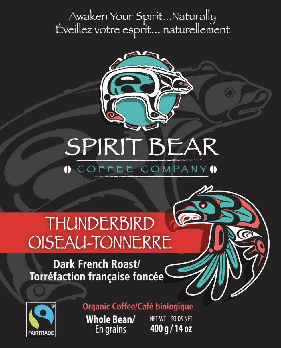 Spirit Bear Coffee Co. - Thunderbird - Dark French Roast (Beans)