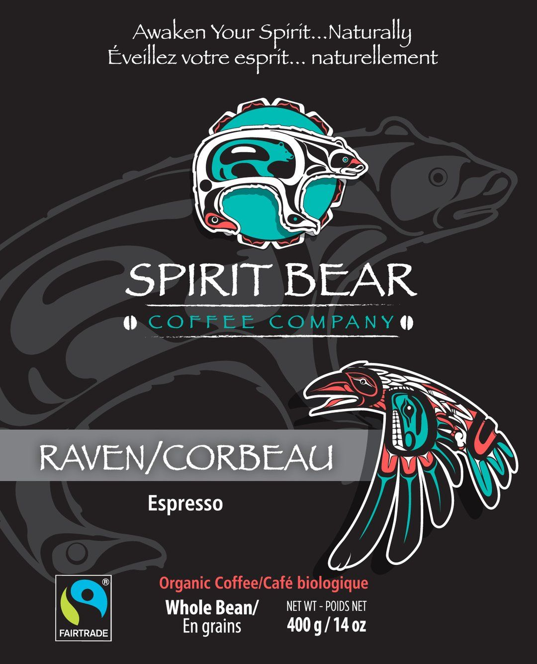 Spirit Bear Coffee Co. - Raven - Espresso (Beans)