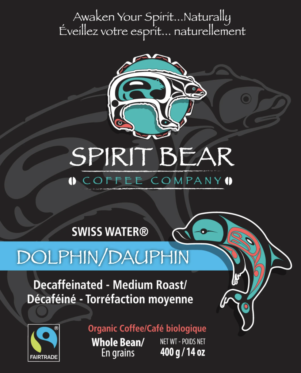 Spirit Bear Coffee Co. - Dolphin - Decaffeinated (Beans)